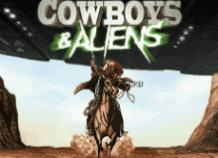 Играть на деньги в игровой аппарат Cowboys & Aliens от PlayTech