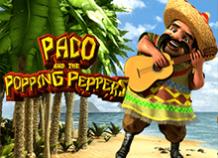 Играйте на деньги в онлайн аппарат Paco And Popping Peppers от BetSoft