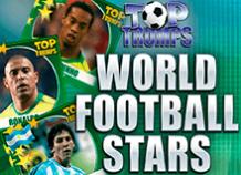 Игровой аппарат на деньги и с бонусами Top Trumps World Football Stars от PlayTech