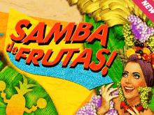 Пять бесплатных вращений и сто игровых линий в игре Фруктовая Самба