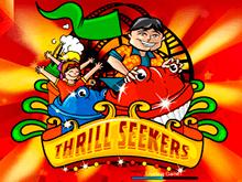 Игра на онлайн автомате Thrill Seekers - это отличный досуг