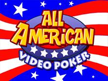 В аппарат All American Poker играйте бесплатно в режиме фан-игры
