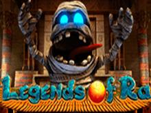 В Вулкане Удачи игровой автомат Легенда Ра