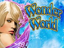Процесс игры в игровой онлайн автомат Чудесный Мир Вулкана Удачи